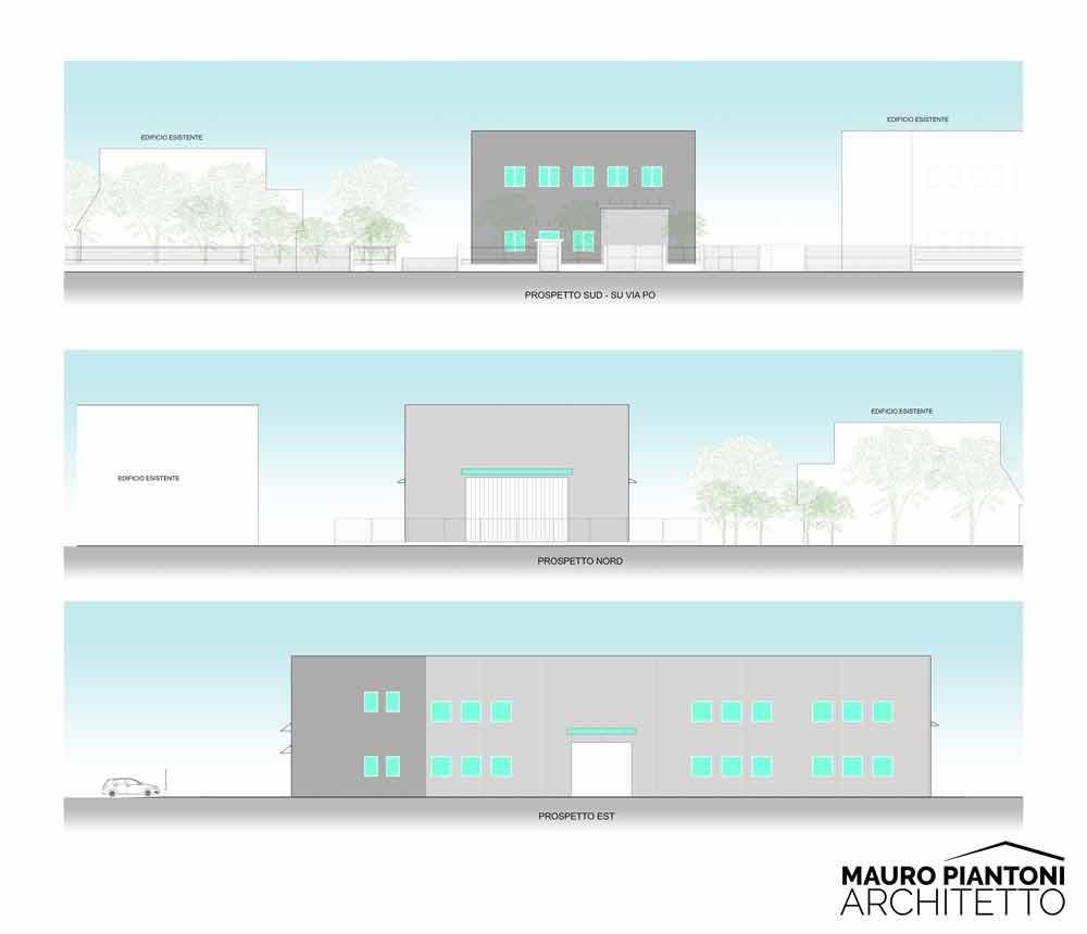 Fabuleux Progettazione di un nuovo capannone industriale a Milano YW58