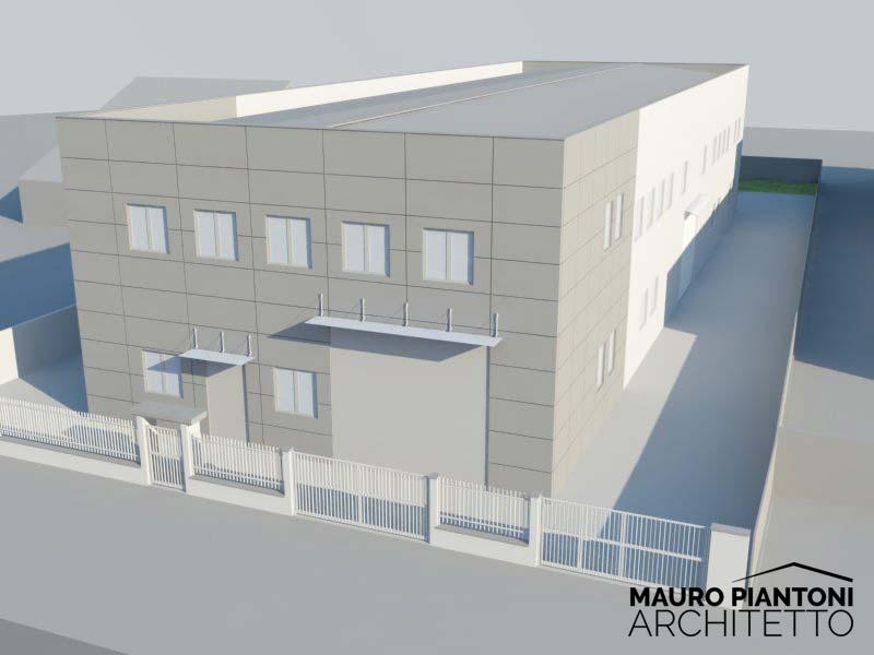 Assez Progettazione di un nuovo capannone industriale a Milano VL34