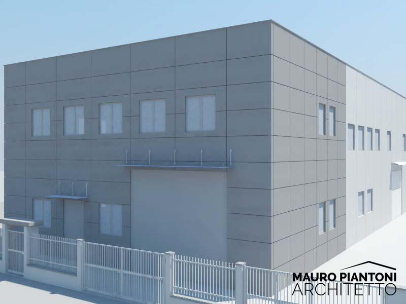 Super Progettazione di un nuovo capannone industriale a Milano DX58