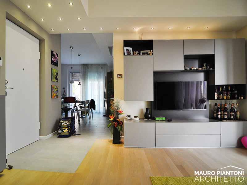 Conosciuto Ristrutturazione di interni Casa FRR a Milano Cornaredo EE99