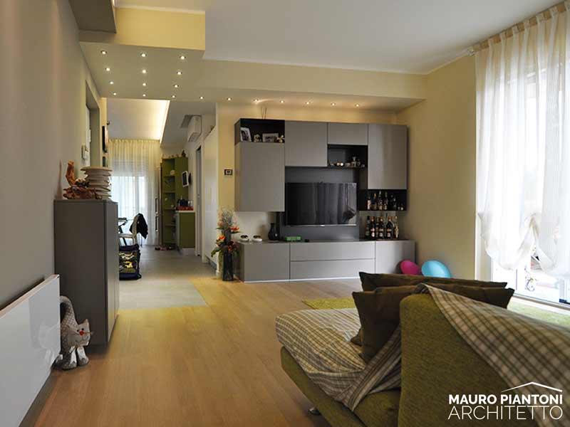 Ristrutturazione di interni Casa FRR a Milano Cornaredo