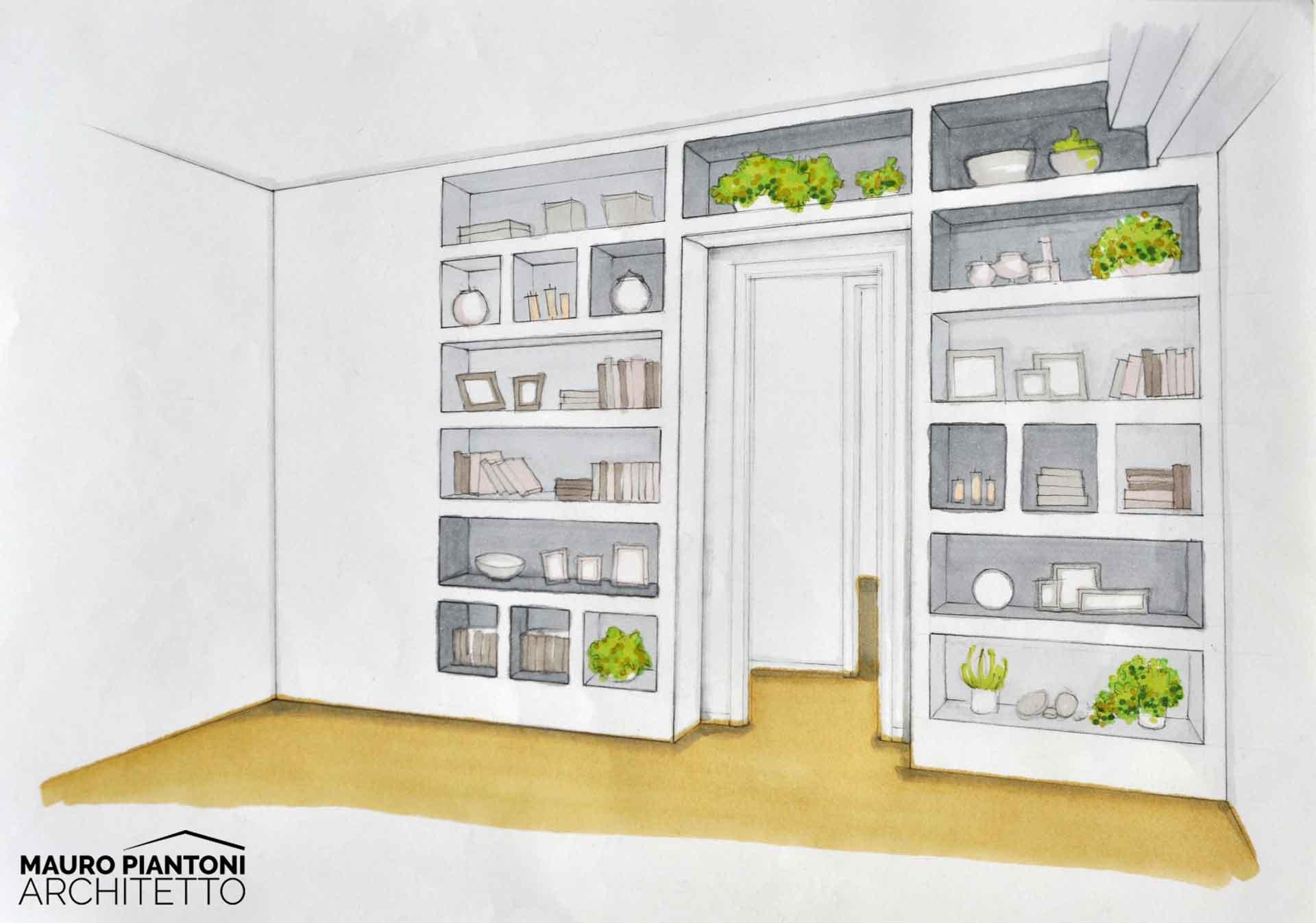 Ristrutturazione di interni casa pi milano studio piantoni for Architetto interni